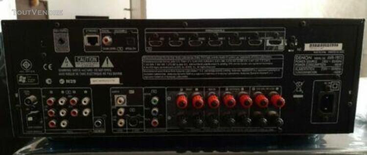 Denon avr-1912 ampli 7.1 ethernet hdmi receiver amplifier