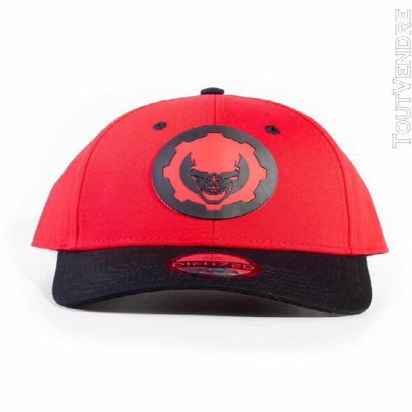 Gears of war casquette baseball hydro red omen