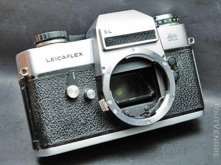 Leicaflex sl chromé fonctionnel mais bloqué (as is) ou pou