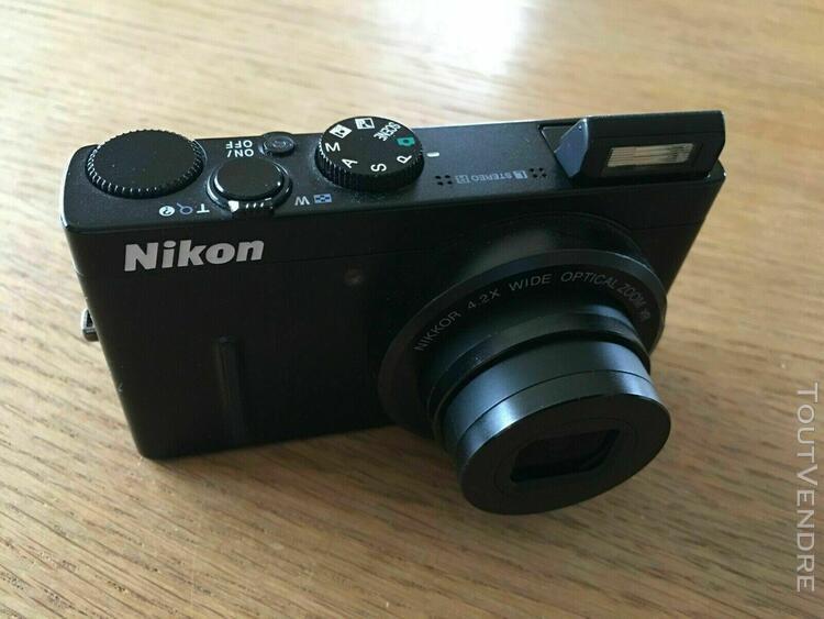 Nikon coolpix p300 12.2 mp appareil photo numérique noir