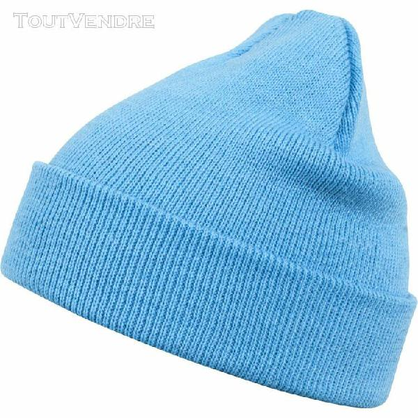 Urban classics beanie bonnet - basic flap navy