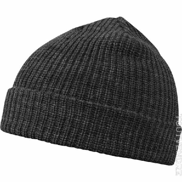 Urban classics beanie bonnet - fisherman ii charcoal