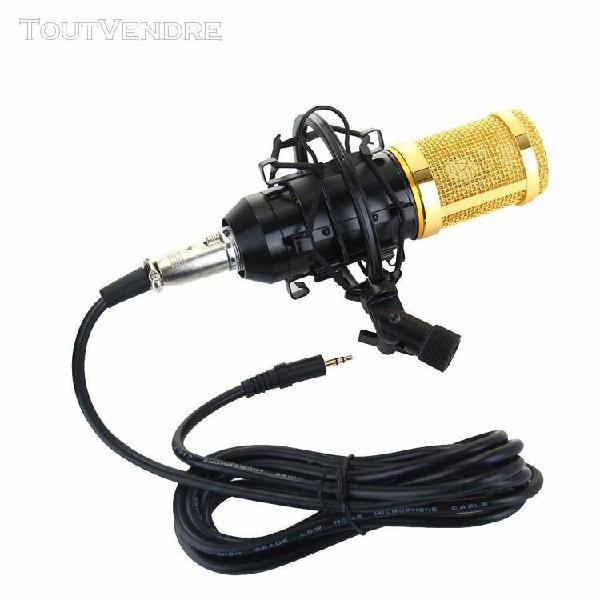 Prof microphone à condensateur micro studio enregistrement