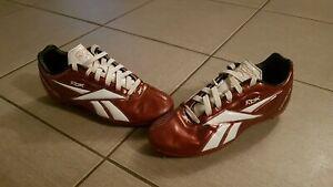 Chaussures de foot reebok bordeaux et blanc en 35