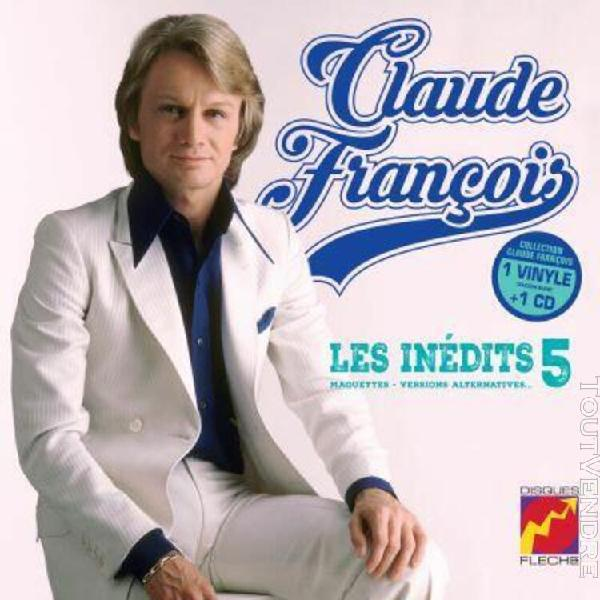 Claude françois - les inédits 25cm vol. 5 - maquettes,
