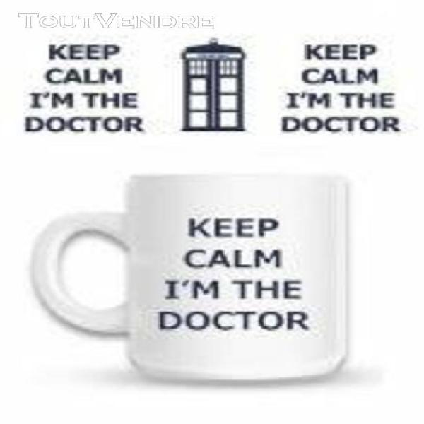 Doctor who - mug keep calm i'm the doctor