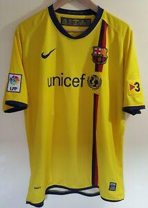 Maillot football barcelone messi taille xl camiseta nike