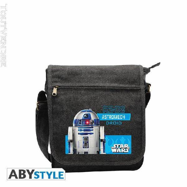 Star wars - sac besace r2d2 petit format