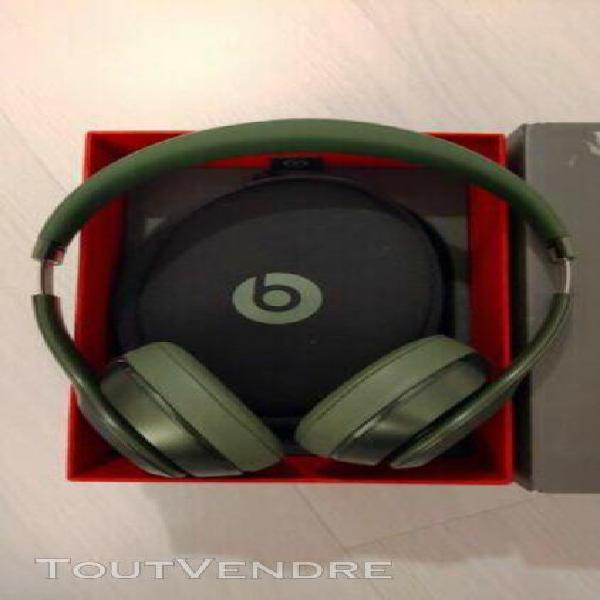 Beats solo 2 filaire royal edition hunter green original