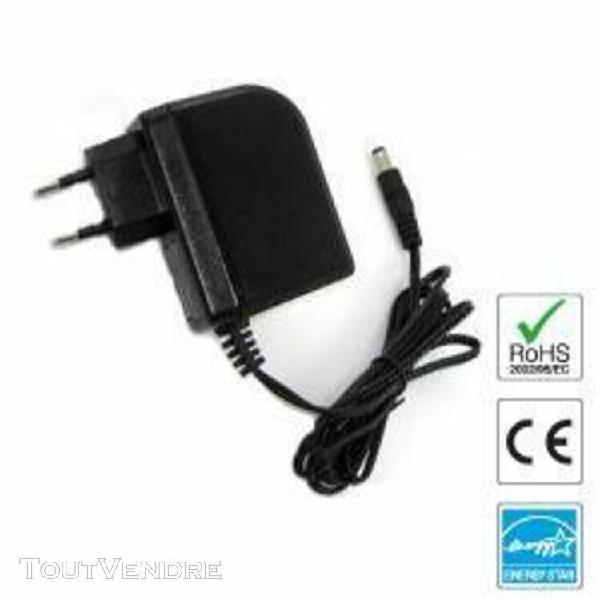 Chargeur / alimentation 9v compatible avec clavier casio ctk