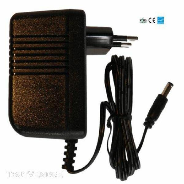 Chargeur / alimentation 9v compatible avec unité d'effets