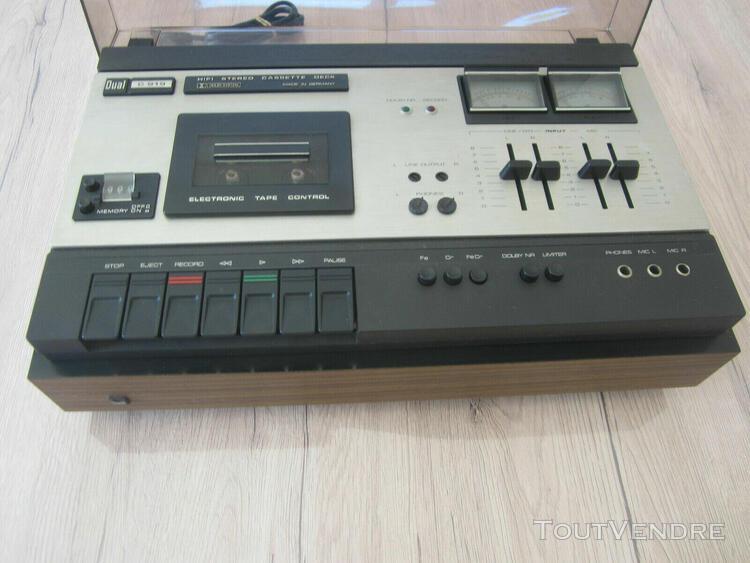 Dual c 919 - lecteur cassette