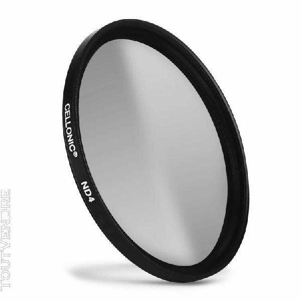 Filtre densité neutre nd4 pour sony ø 49mm filtre gris