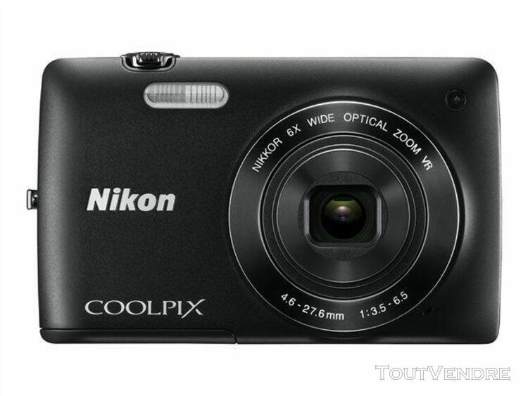 Nikon coolpix s4300 compact numérique 16.0 mpix noir