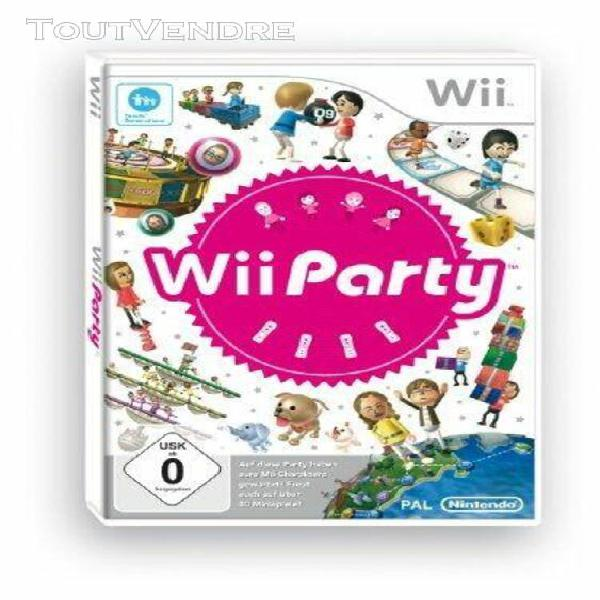 Wii wii party [jeu wii]