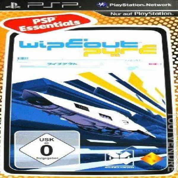 Wipeout pure - essentials [jeu psp]