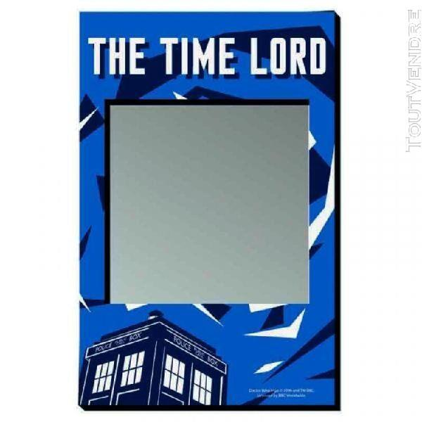 Doctor who - photo frame magnet 9.5 x 14 - time lord