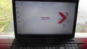 Pc portable toshiba stellite c660d windows 7