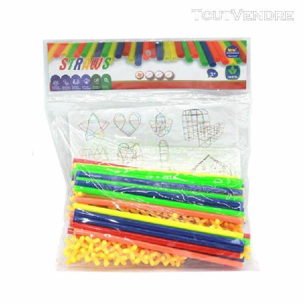 81pcs blocs briques jeux de construction diy en plastique di
