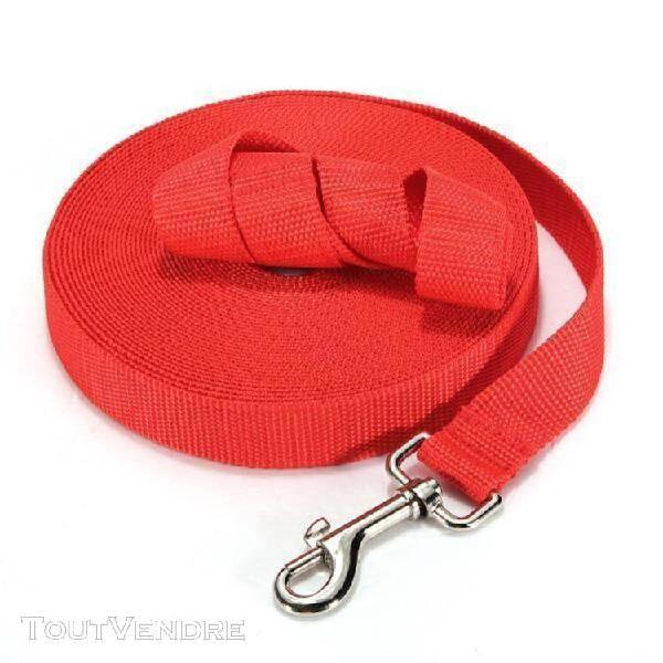 Chien corde nylon laisse de dressage collier harnais