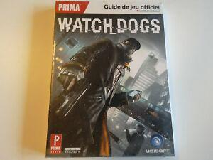 Guide officiel official prima watch dogs français neuf new