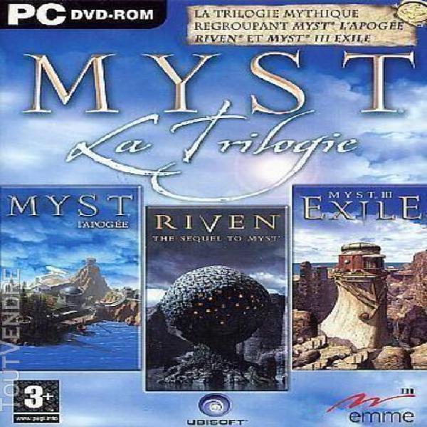 Myst la trilogie (collector)