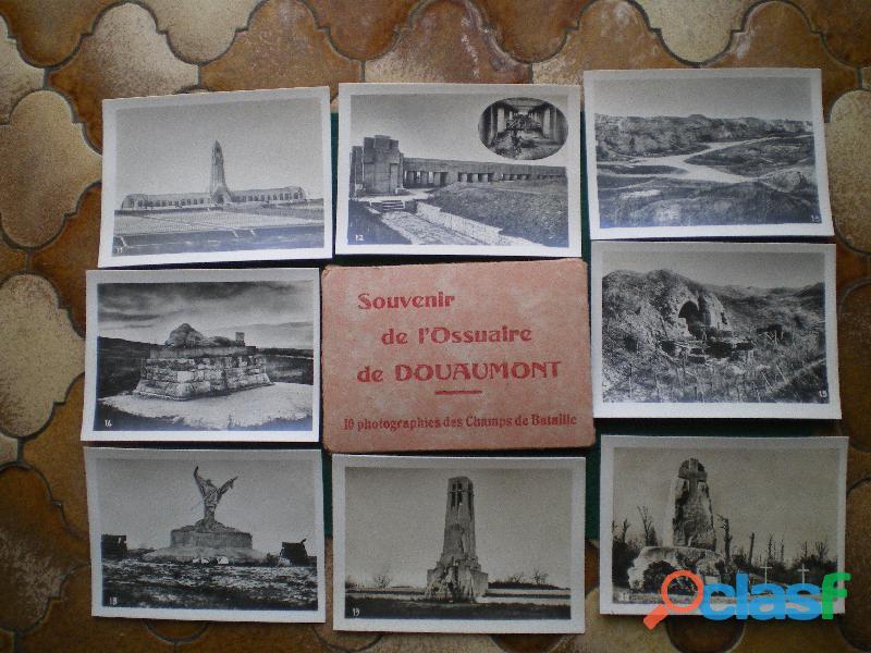 Photographies de l'ossuaire de douaumont