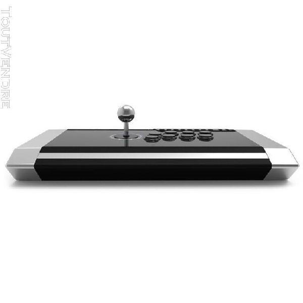Qanba q3 obsidian manette gaming joystick pour ps3 ps4 pc no