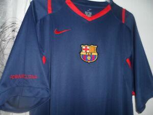 Barcelona cf vintage 2007 maillot nike pré-match xl
