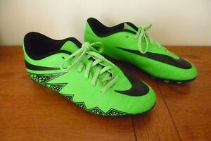 Basket foot nike hypervenom vert fluo & noir 37,5