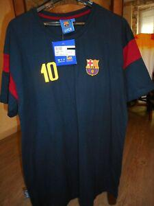 Fc barcelone t-shirt pas maillot messi neuf l