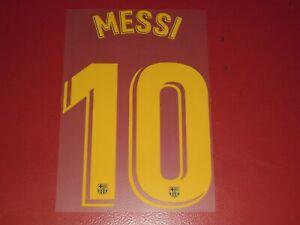 Nameset flocage officiel messi fc barcelone home 2019/2020