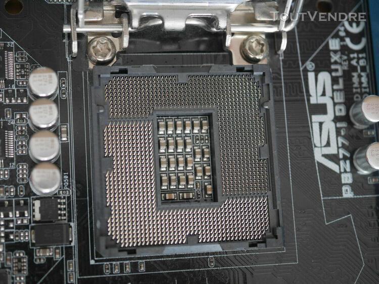 Carte mère asus p8z77-i deluxe mini itx socket 1155 chipset