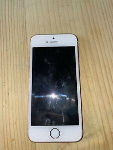 Iphone se 32 go - or rose - comme neuf