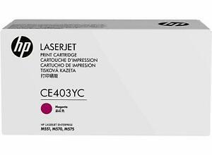 Ref:ce403yc] hp toner laser original contract 507a ce403yc