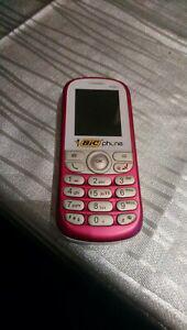 Telephone portable bic phone alcatel