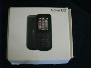 Téléphone mobile nokia 130 double sim - noir