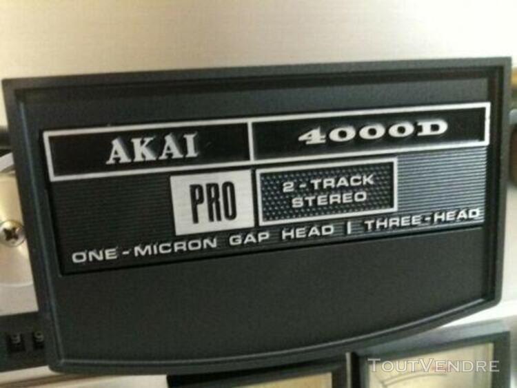 Akai 4000d pro magnétophone reel to reel studio grade