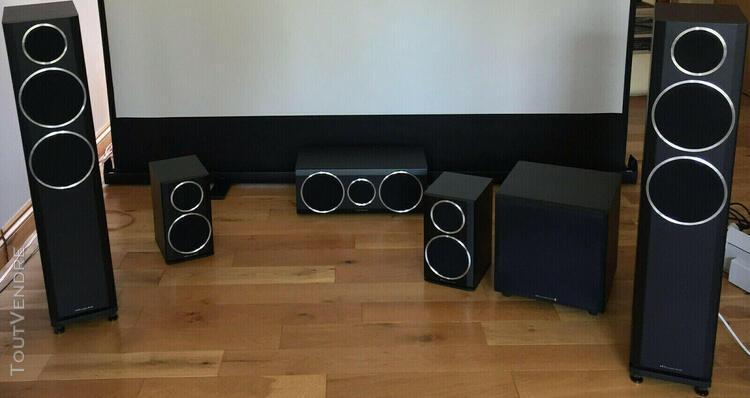 Amplificateur home cinema yamaha rx-v673 + 5 haut parleurs w