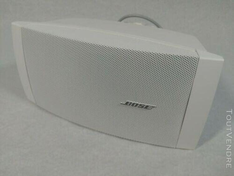 Enceinte bose freespace ds 40se loudspeaker blanc très bon