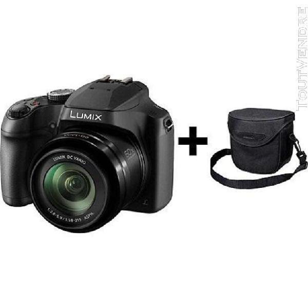 Panasonic appareil photo bridge dc-fz82k + sac
