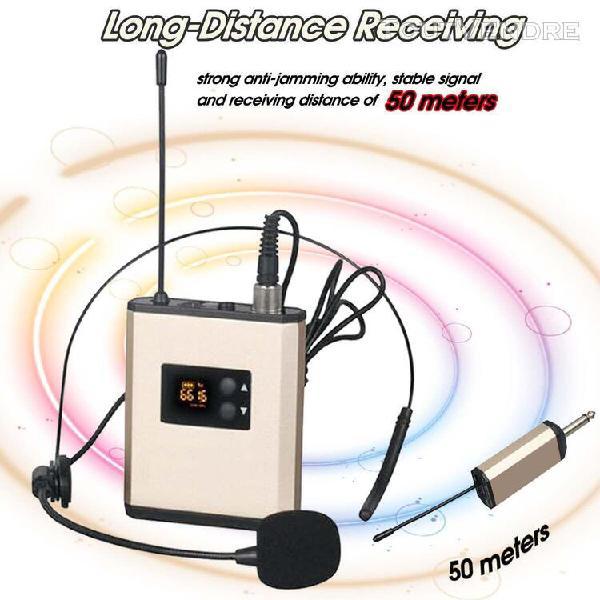 NASUM Microphone sans Fil Haut-parleur Multifonction Portable ...