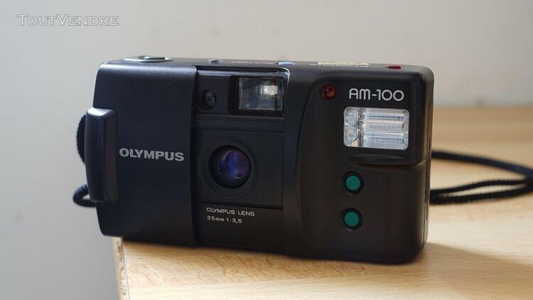 "Appareil photo argentique compact olympus am-100 ""point&shoo"