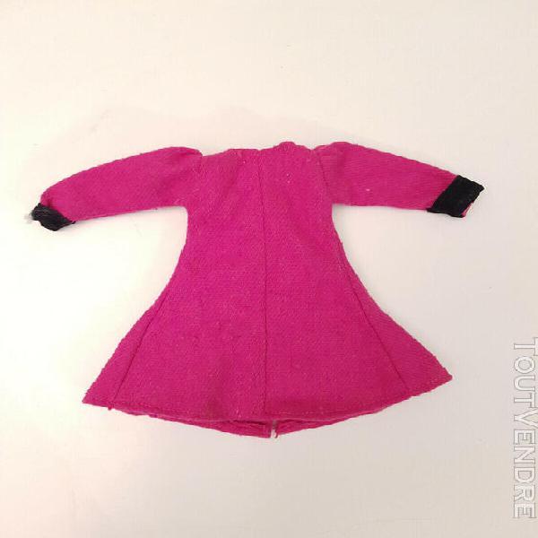 Barbie vintage manteau rose violet non identifié fashion