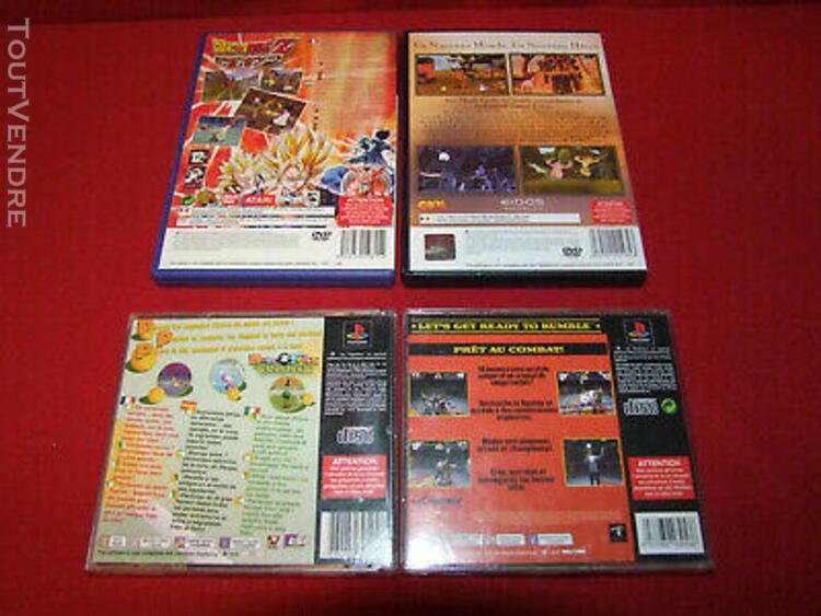 Console playstation 2 slim ps2 + 8 jeux + 1 manette + 1cm