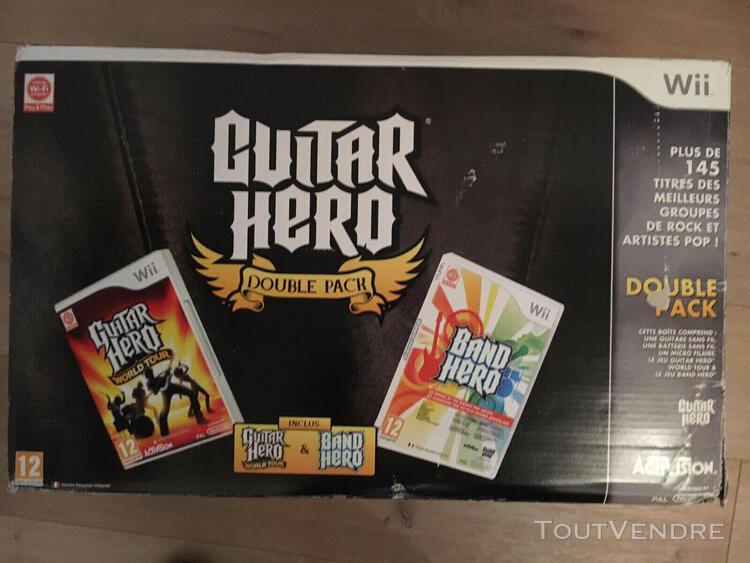Guitar hero double pack - guitar hero world tour & band hero