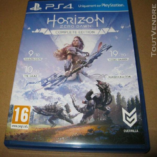 Horizon zero dawn complete edition ps4 vf
