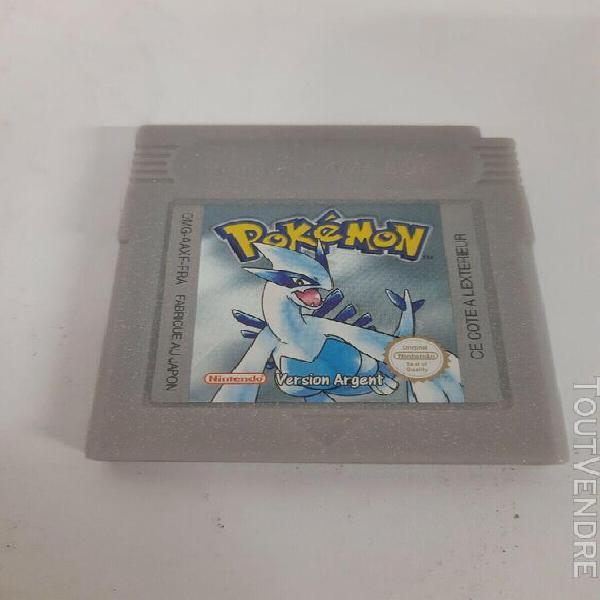 Jeux game boy pokemon argent