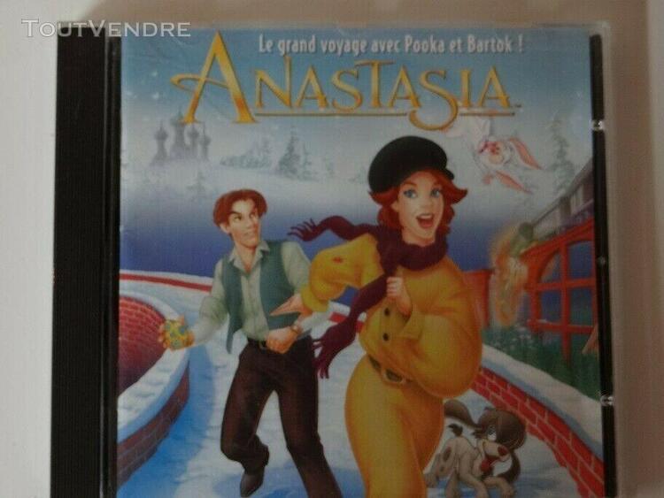 Jeux pc windows 3.1/95 -anastasia le grand voyage avec