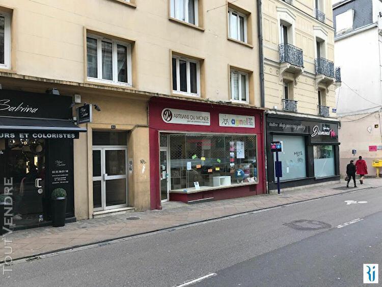 Local commercial rouen 71 m2